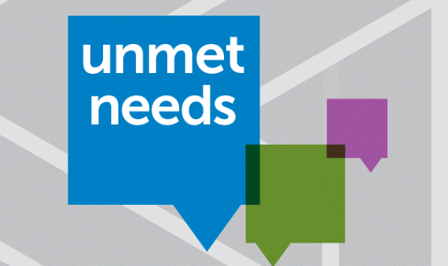 Open call for unmet needs