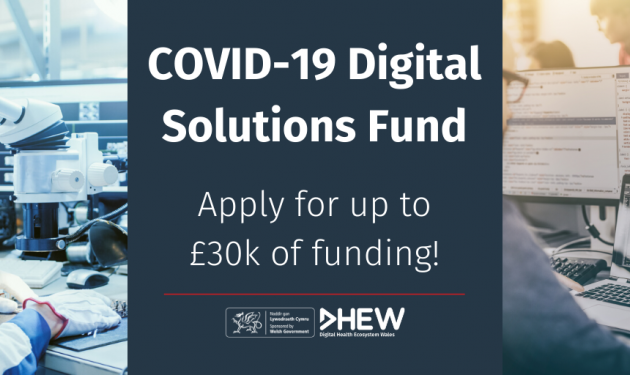 Welsh Government announces new competition for digital solutions to help fight Covid-19