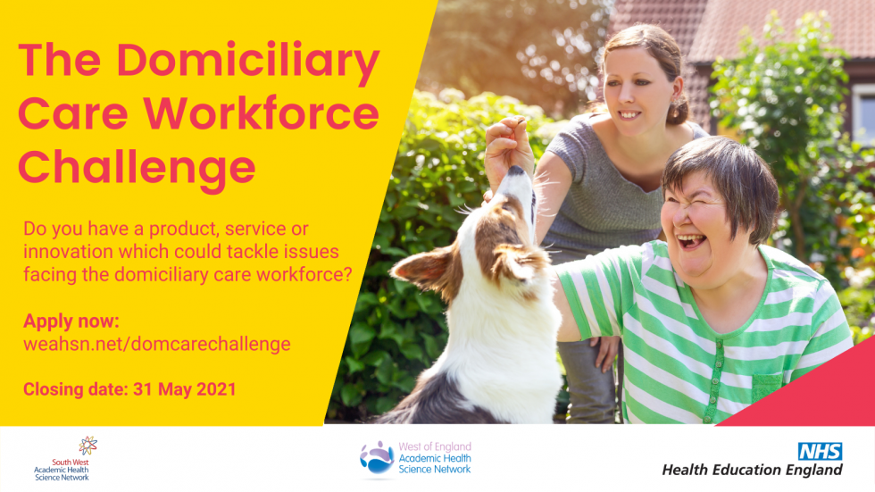 Domiciliary care search for innovations - £100k funding for pilots