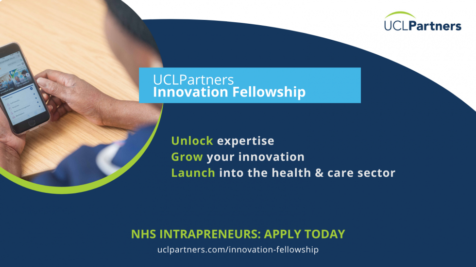 UCLPartners launches Innovation Fellowship