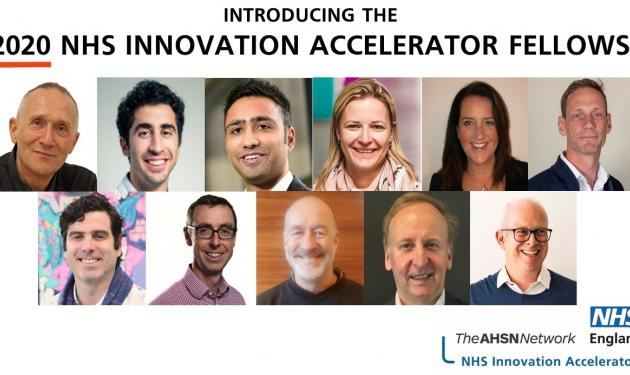 11 new innovators tapped to transform England's NHS through national acceleration