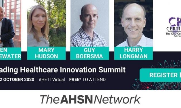 Join us at free HETT event: Leading Healthcare Innovation Summit on 20-22 October